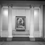 """Сикстинская мадонна"" Рафаэля на выставке 1955-го года"