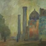 """Роберт Фальк """"Самарканд"""" 1942-1943"""