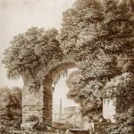 """Щедрин С.Ф. """"Пейзаж с руинами"""" 1799"""