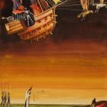 """Виктор Пивоваров """"Злой князь. Иллюстрация к книге Г.Х.Андерсена """"Сказки и истории"""" 1980"""