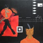 "26. Булатов Эрик ""Ночной город"" 1967 Холст, масло 100х129 Tsukanov Family Foundation, Лондон"