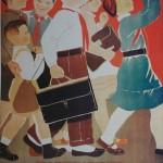 """14. Зернова Екатерина """"Юные пионеры и школьники. Плакат"""" 1930"""