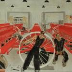 """7. Зернова Екатерина """"Сельмашстрой. Плакат"""" 1930"""