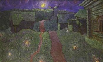 """Алексей Аникеенок """"Светлячки на старой дороге"""", 1962"""