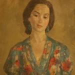 """Роберт Фальк """"Портрет А.С.Юмашевой"""" 1944"""