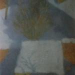 """5. Крымов Николай """"Крыши под снегом"""" 1906 Картон, масло 24х19 Государственная Третьяковская галерея"""