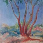 """108. Кузнецов Павел """"Сочи"""" 1920-е Холст, масло 61,5х46,5 Из собрания семьи художника"""