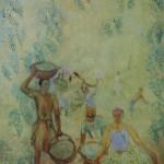 """126. Кузнецов Павел """"Сбор винограда"""" 1928 Холст, масло 178х142,5 Государственный Русский музей"""
