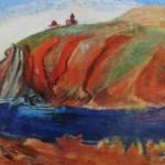 """138. Кузнецов Павел """"Севан"""" 1930-1931 Холст, масло 66х106 Из собрания семьи художника"""