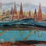 "142. Кузнецов Павел ""Бухта Ильича"" 1931-1932 Холст, масло 55,5х84,5 Национальная галерея Армении, Ереван"