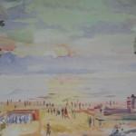 """157. Кузнецов Павел """"Майори"""" 1960 Холст, масло 50х70 Оренбургский музей изобразительных искусств"""