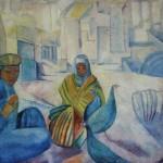 "46. Кузнецов Павел ""Птичий базар"" 1913 Холст, масло 72х92 Государственный Русский музей"