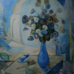 "64. Кузнецов Павел ""Бухарский натюрморт"" 1912-1913 Темпера, холст 110х107 Собрание П.Авена"
