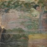 """8. Кузнецов Павел """"Утро (Рождение)"""" 1905 Темпера, холст 105,5х102 Государственная Третьяковская галерея"""