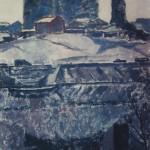 "12. Пётр Оссовский ""Весна в Москве"" 1958 Холст, масло 137х76"
