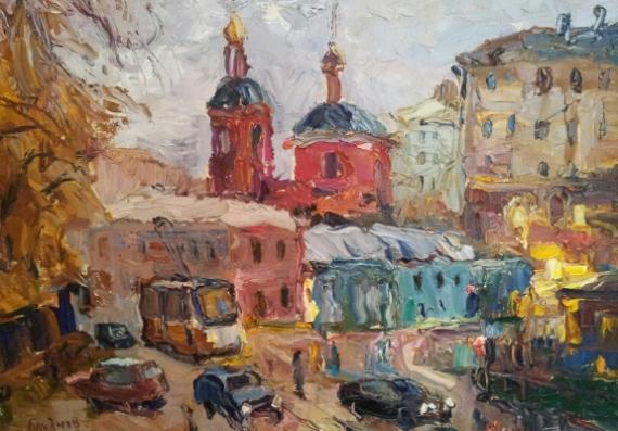 Павел Блуднов Выставка «Цвет города»