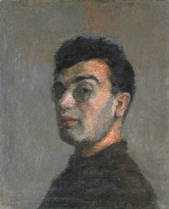 """И.Рубанов """"Автопортрет"""", 1928"""