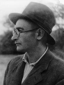 И.Рубанов. Фотопортрет в шляпе, 1946-48 гг