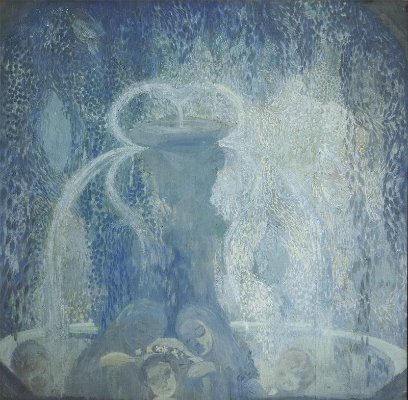 """Павел Кузнецов """"Голубой фонтан"""" 1905"""