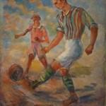 """Павел Кузнецов """"Футбол"""" 1931"""