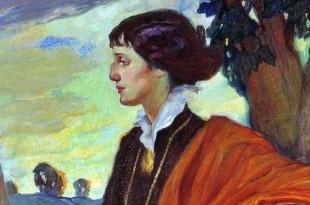 14 сентября (02 сентября по ст.стилю) 1875 года родилась Ольга Людвиговна Делла-Вос-Кардовская.