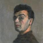 """6. Рубанов Иосиф """"Автопортрет"""" 1928 Холст, масло 53х44 Государственная Третьяковская галерея"""