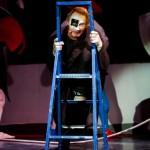 Премьерный показ футуристической оперы в Москве в рамках 6-й Московской международной биеннале современного искусства.