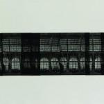 """Наталья Заровная """"Триптих «Терминал, Антверпен». Лист 2"""" 2010"""