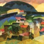 """Аристарх Лентулов """"Гурзуф"""" 1913"""