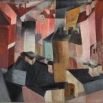 """Владимир Лебедев """"Пейзаж"""" 1920-е"""