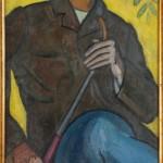 """Роберт Фальк """"Портрет Виктора Шнеерсона с чубуком"""" 1911"""