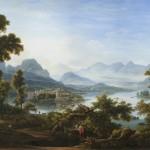 """Фёдор Матвеев """"Lago Maggiore"""" 1812"""