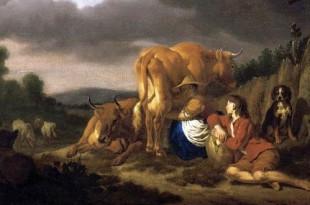 30 ноября 1636 года родился Адриан Ван де Вельде