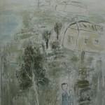 Евгений Ревяков «Домики на берегу» 2006