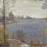 """Исаак Бродский """"Золотая осень. Осенний пейзаж"""" 1907"""