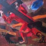 """Игорь Пчельников """"Несущий крест"""" 1992"""