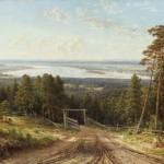"""Иван Шишкин """"Кама близ Елабуги"""" 1895"""