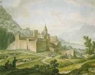 М.М.Иванов «Крепость-монастырь в Грузии» 1804 Государственная Третьяковская галерея