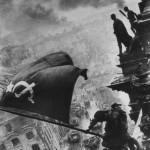 """Евгений Халдей """"Знамя Победы над Рейхстагом. Берлин. 1945"""""""