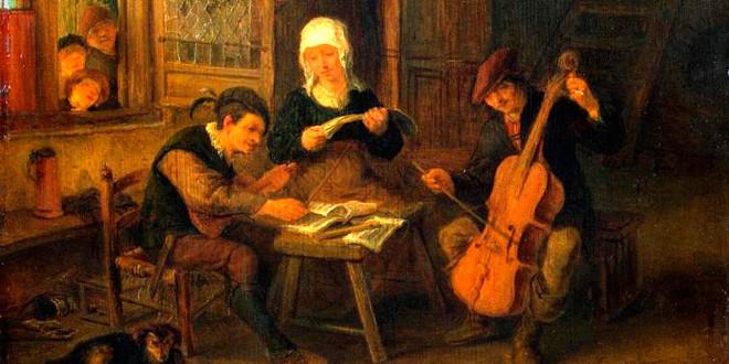 10 декабря 1610 года родился Адриан Ван Остаде.