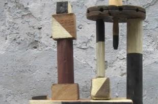 Скульптура в городе М.