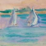 Борис Чернышёв «Чивирёво. Яхты» 1960
