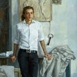 """Владимир Соковнин """"Портрет молодого человека"""" 2011"""