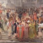 """Александр Самохвалов """"Хлопок (Эскиз панно для павильона на ВСХВ) 1939"""