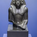 """""""Фрагмент статуи сидящего Аменемхета III"""" - Из коллекции ГМИИ"""