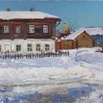 """Владимир Соковнин """"Февраль в Суздале"""" 2013"""