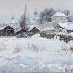 """Владимир Соковнин """"Январский день"""" 2013"""
