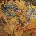 Виктор Глухов «Четверг, рыбный день» 2013