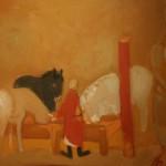"""Валерий Бабин """"На конном дворе"""" 2012"""