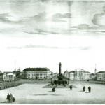 Панорама Сусанинской площади. Литография. 1866 (копия)